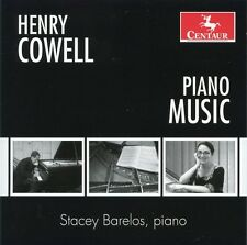 Stacey Barelos, Henry Cowell - Piano Music [New CD]