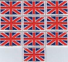 LOT 10 ECUSSON PATCHE THERMOCOLLANT DRAPEAU ANGLETERRE UNION JACK 4,5 X 3 CM