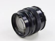 Black 85mm f/2 lens JUPITER-9 Zenit.Professionally adapted to Nikon. s/n 8901165