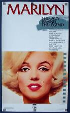 MARILYN LADY BEHIND LEGEND (VF) VIDEO STORE Movie Poster 1987 ROLLED 22x37