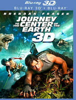 Journey to the Center of the Earth [One Disc Blu-ray 3D Bluray Combo] brand new