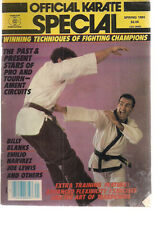 OFFICIAL KARATE SPECIAL Magazine Spring 1984 Billy Blanks Joe Lewis Narvaez