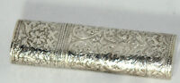 Antique c1800's~~STERLING SILVER ETUI Chatelaine CASE~VERY DETAILED,HALLMARKED
