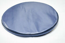 "Bar Stool Slip On Seat Cover Vinyl With Foam Padded..Fits.14""-15.5""Dia.NAVY BLUE"