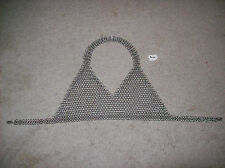 Handcrafted chainmaille bra