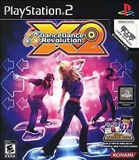 Dance Dance Revolution X2 (Sony PlayStation 2, 2009) Disc only