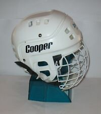 Vintage 1989 Cooper Hockey Helmet sk-600 With VL50 Full Face FREE SHIPPING