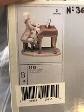 """Lladro Figurine """"Young Mozart""""- #5915-Limited Edition 2500 - Signed # 366"""