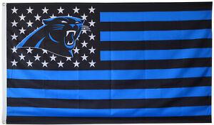 Carolina Panthers stars and stripes 3X5FT banner flag US Seller