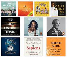Best Seller Audiobook Collection Barack Michelle Obama Gillian Flynn Hawkins ...
