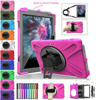Kids Shockproof Hybrid Stand Tablet Case Cover For Microsoft Surface Go 10 inch
