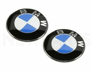 "For BMW E36 Z3 1996-02 Set of 2 Emblems For BMW ""Roundel"" to Fender Grilles OES"