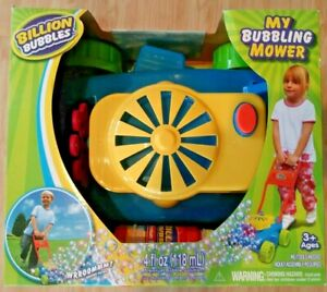 My Bubbling Mower Bubble Mower for Toddlers, Bubble Blower, Outdoor Push Toy New