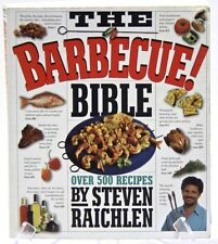 The BBQ Cook Book Illustrated Over 500 by Steven Raichlen Paperback Anniversary