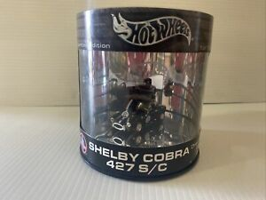 Hot Wheels Drop Top Series Oil Can Shelby Cobra 427 S/C Black Rare Limited black
