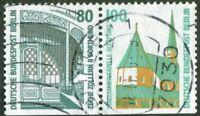 Berlin W 98 Zusammendruck gestempelt 796 D + 834 D Werte Michel 40,00 € used