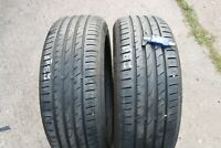 PAIR OF BUDGET PRESTIVO PV-S1 215/55/ZR17 TYRES 94W *6.5MM & 6.6MM*