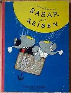 Jean de Brunhoff Babar auf Reisen AUSGABE 1946