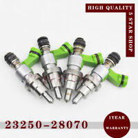 4pcs 23250-28070 Fuel Injector Nozzle For 2003-2008 Avensis AZT251 2AZFSE