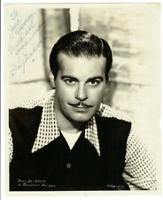 RARE SIGNED HOLLYWOOD STAR: Billy De Wolfe Autographed Paramount Publicity Photo
