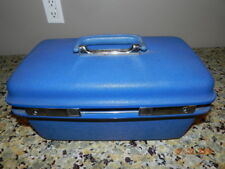 Vintage SAMSONITE Hard Suitcase, Train Make Up Case Mirror  no key