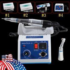 Dental Lab Marathon Electric Micromotor 35k Rpm Motor Low Speed Handpiece Kit N3