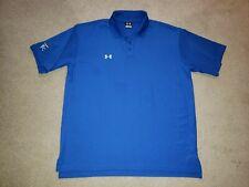 Under Armour Kansas City Royals Polo Shirt Blue Mens Large Lg L Team Issue