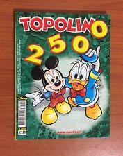 TOPOLINO Numero 2500 WALT DISNEY 28 OTTOBRE 2003 COPERTINA CARTONATA Collezione