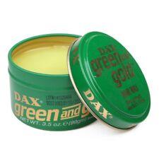 2 X Dax verde y Dorado Cera Pelo