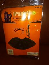Halloween Tutu and Wand Costume Set - Toddler Size Small