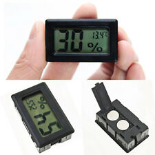 Mini Black Digital LCD Indoor Temperature Humidity Meter Thermometers Hygrometer