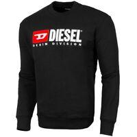 Diesel S-CREW-DIVISION Sweatshirt Men Herren Pullover Sweater 00SHEP-0CATK-900