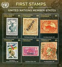 Micronesia 2015 Mnh primeros sellos de las Naciones Unidas de las Naciones Unidas los Estados miembros 6v m/s me