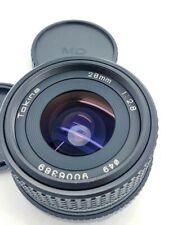 Minolta MD mount Tokina manual F/2.8 wide 28mm Lens in EXC+++ con