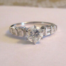 1.52 Carat 14K Gold Diamond Engagement Ring Center=.92 F-SI2 Enhanced Value=$11K