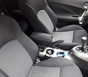 Accoudoir Nissan Juke (2010-2019) Tissu Noir | Livraison Gratuite Point Relais