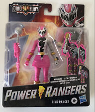 NEW Power Rangers Dino Fury Pink Ranger 2021 Hasbro In Hand US