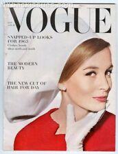 Vogue magazine January 15 1963 Ian Fleming Helmut Newton Jackie Kennedy