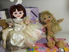 Build A Bear Friends 2B Made Goldi Glow Plush Doll w/Outfit