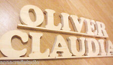 PERSONALISED real pine wood names,baby room ,office ,gift for someone special