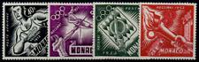 TIMBRES MONACO Année 1953 Poste Aérienne Série n°51 au n°54 NEUF*