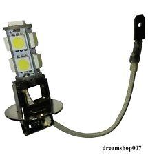 2 Lampadine H3 9 SMD LED 6.000K bianco - Nuovo - Testate e funzionanti auto moto