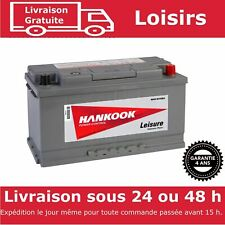 Hankook XV110 - Batterie Décharge Lente Pour Caravane et Camping Car 12V 110AH