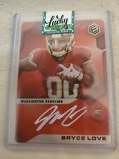 2019 Panini Elements Red Bryce Love Autograph