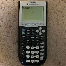 Texas Instruments TI-84 Plus Graphing Calculator - Black - NO CASE