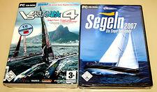 PC SPIELE SAMMLUNG VIRTUAL SKIPPER 4 SEGELN 2007 SIMULATOR ----------- (5 2015)