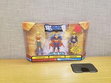 DC Universe Infinite Heroes 3 pack, Wonder Girl, Superman, and Supergirl, New!