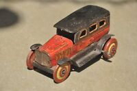 Vintage Wind Up Litho car Tin Toy , Japan ?