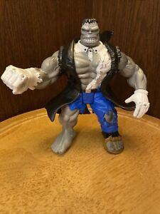 Vintage Marvel Legends Gray Hulk Action Figure - ToyBiz 1996