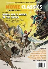 CINEMA RETRO WORLD WAR II MOVIES OF THE 1960S LTD ED 80 PAGE SPECIAL ISSUE!